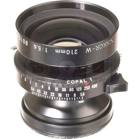 nikon 210mm f 5 6 nikkor w lens with copal 1 shutter 1318 b h