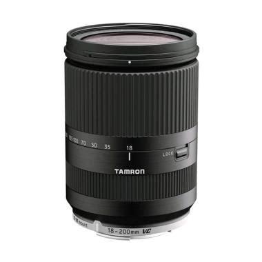 Lensa Tamron 18 200mm Vc For Canon Or Nikon jual produk lensa canon eos m3 harga promo diskon
