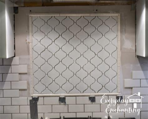 kitchen backsplash accent tile arabesque backsplash accent