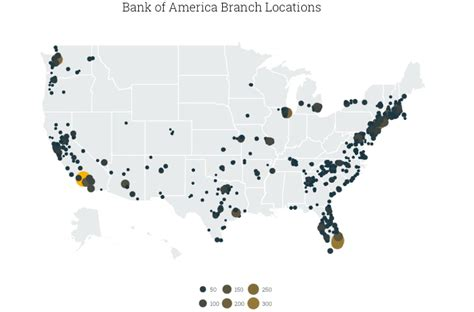 us bank branch locations bank of america locations map my