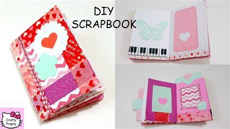 Diy Scrapbook Tutorial Make Art Journal Diy Mini