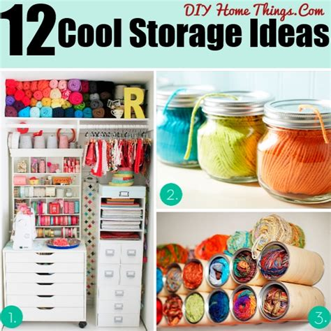 awesome crafts for your room 12 cool ideas for storage and organization in your craft