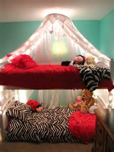 Bunk Bed Canopy Diy Priddy Project Lighted Bed Canopy