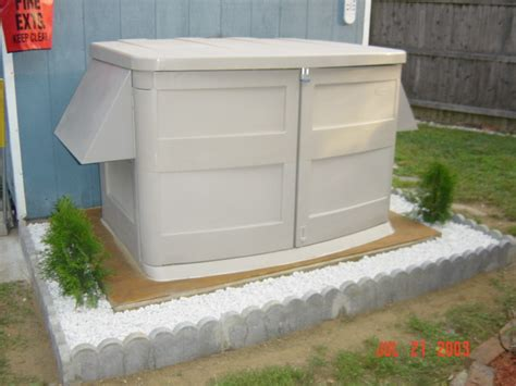 outdoor generator shed images generator enclosure