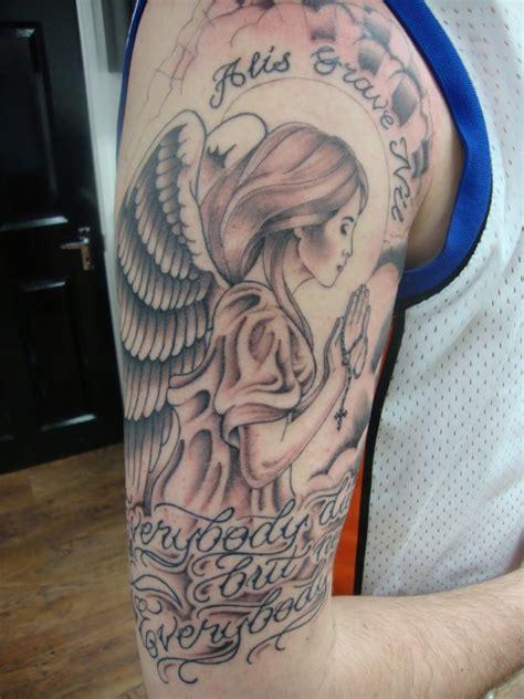 tattoo arm engel engel tattoo designs mit bedeutungen 38 ideen vorlagen