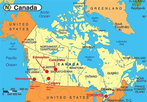 map of canada showing calgary where is calgary canada map
