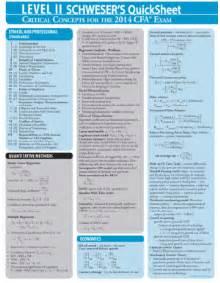 cfa level 2 quicksheet 2014 accounting books hub
