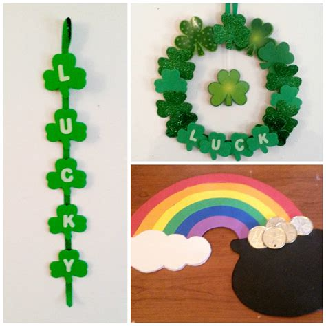 st patricks day decorations fun family crafts