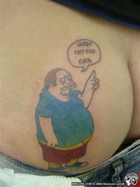 best tattoo girl ever women gets best worst ass tattoo ever