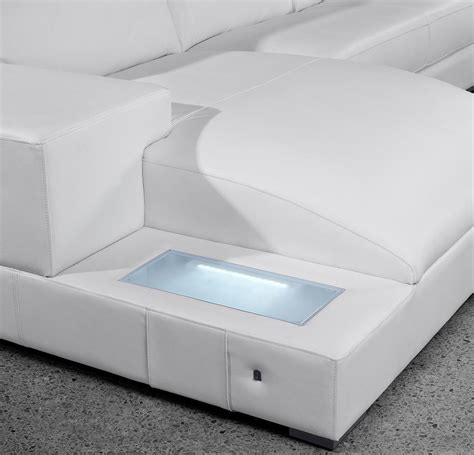 contemporary white leather sofa modern white leather sectional sofa