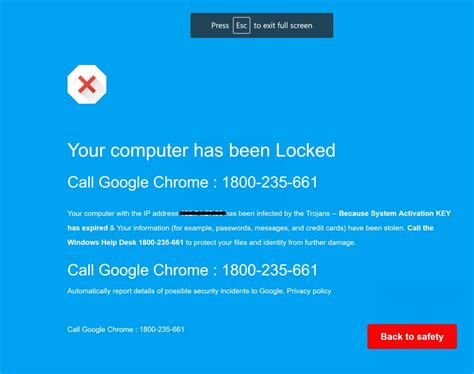 ups help desk phone number remove quot call chrome help desk immediately quot