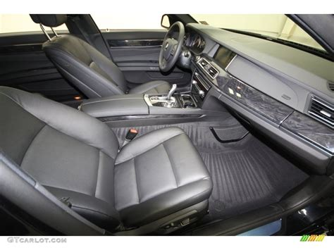2013 Bmw 7 Series Interior by Black Interior 2013 Bmw 7 Series 740li Sedan Photo