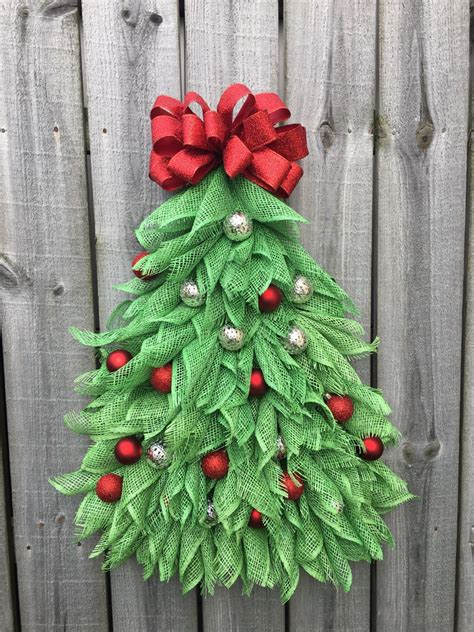when to put deco wreath on christmas tree a personal favorite from my etsy shop https www etsy listing 479063412 tree