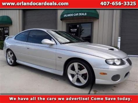 auto body repair training 2006 pontiac gto seat position control find used 2006 pontiac gto in winter garden florida united states for us 15 999 00