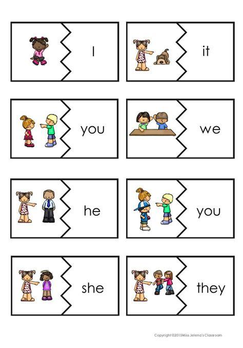 pronoun worksheet kindergarten 17 best ideas about teaching pronouns on pronoun activities pronoun words and c syntax