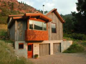 mountain cabin rustic exterior other metro by
