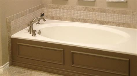 cultured marble bathtubs cultured marble tub is resurfaced quot kohler white