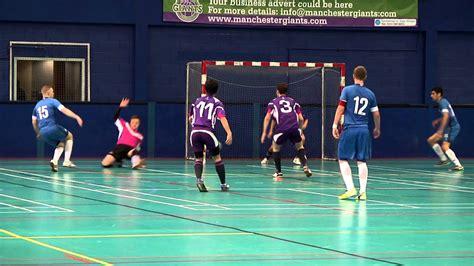 manchester futsal club  loughborough futsal club youtube