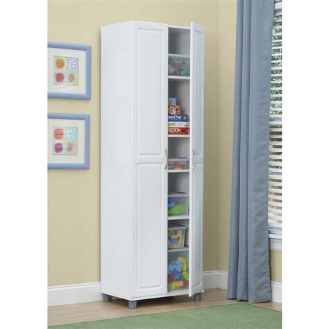 Systembuild Kendall White Storage Cabinet 7362401pcom