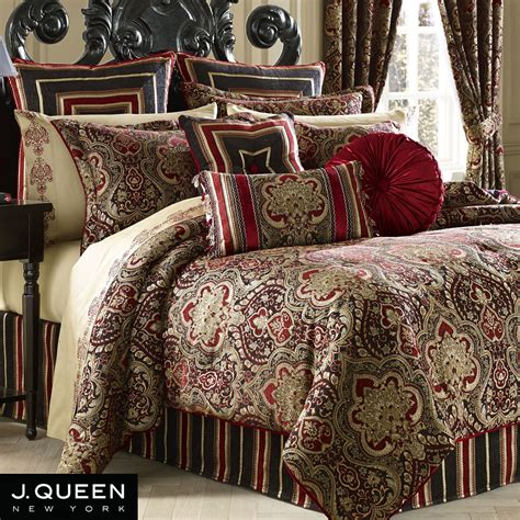 j queen new york comforter roma medallion comforter bedding by j queen new york