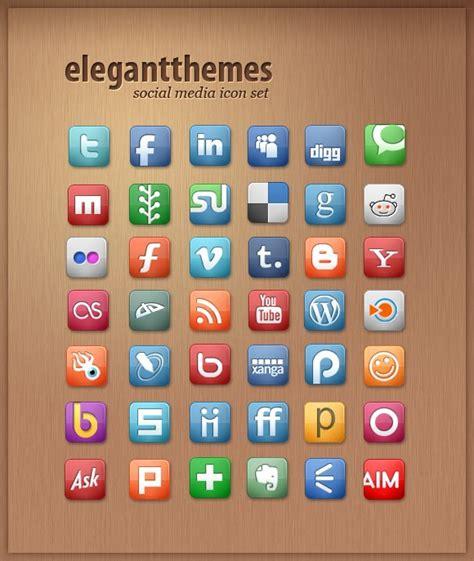 free sosial network icon 50 high quality free social media icons