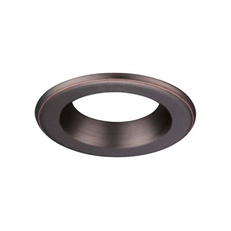 envirolite 4 in decorative bronze trim ring for led