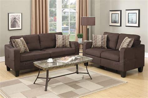 poundex sofa and loveseat sofa and loveseat f6923 poundex