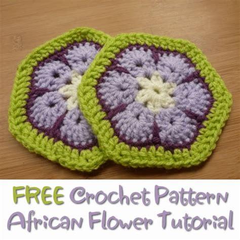 pattern african flower crochet craftymarie free crochet pattern african flower tutorial