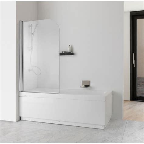pareti vasca bagno parete doccia per vasca da bagno cristallo trasparente