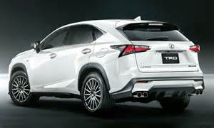 2015 lexus nx gets more aggressive with trd bits