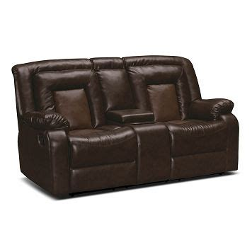 dual reclining loveseat for rv cobra leather dual reclining loveseat value city