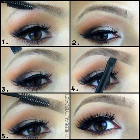 easy eyeliner tutorial youtube easy natural eyebrow tutorial thebeautybox1211 youtube