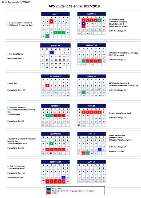 aps calendar 2017 my blog