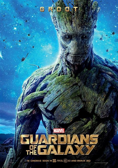 marvel film groot new guardians of the galaxy featurette has groot speaking