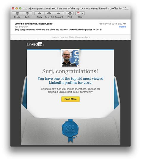 Ashworth College Mba Marketing Linkedin by Linkedin Surj S House Of Awesome