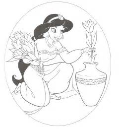 Disney Princess Coloring Pages For