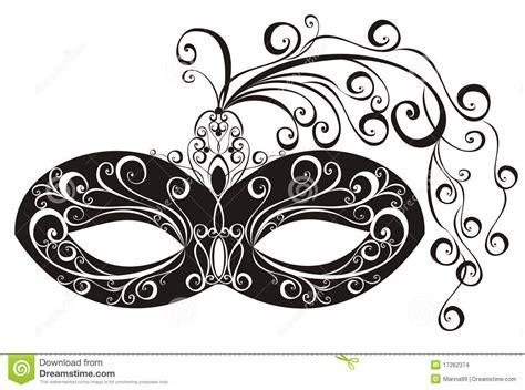 masks for a masquerade vector illustration stock vector