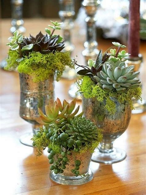 centerpieces made from nature 45 rustic moss decor ideas for a nature wedding deer pearl flowers