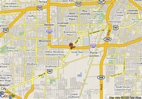 bellaire texas map map of candlewood suites houston bellaire houston