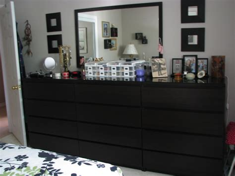 ikea bedroom organizer ikea is not so bad 3 x 4 drawer malm dressers in brown
