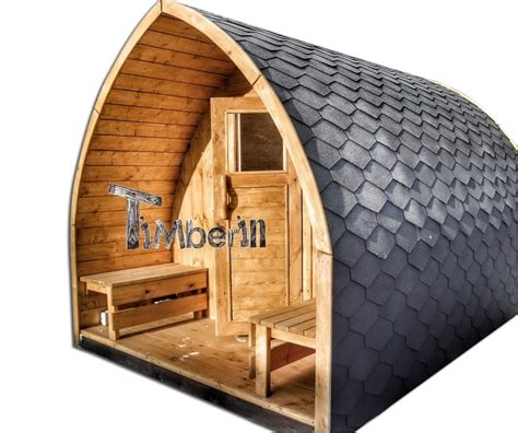 Sauna Bois Exterieur by Jardin Ext 233 Rieur Sauna En Bois Igloo Avec Des Po 234 Les