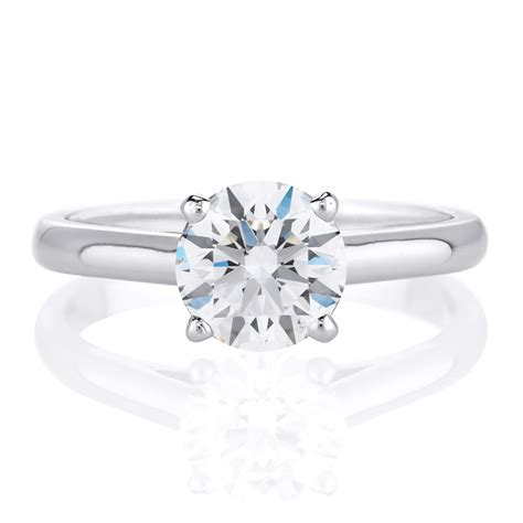 1 Carat Engagement Ring by Should I Buy A 1 Carat Engagement Ring Or 2 Carats