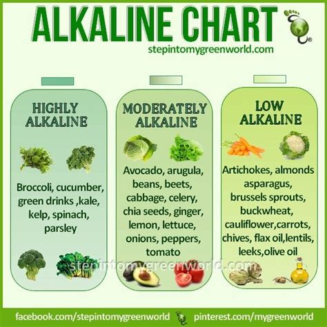 Pdf Essential Alkaline Diet Cookbook Recipes by Alkaline Food Chart Nutrition Diet Healthy If