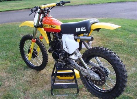 old motocross bikes your collection 1978 suzuki rm 125 racer x online