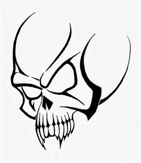 tribal tattoo stencils free free tribal skull stencil photo 4 2017 real