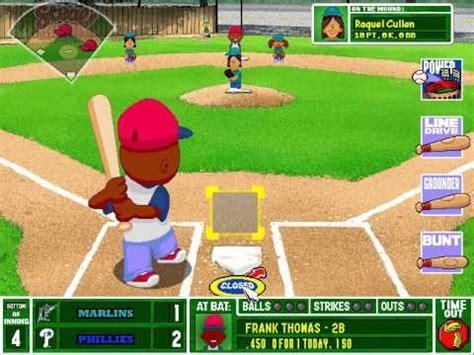 Backyard Baseball Flash by Florida Flash Baseball