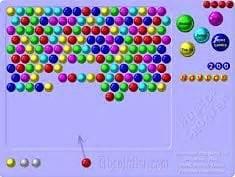 bubble shooter  hra pomu hry
