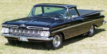history of the chevy el camino the car that thought it