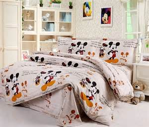 Mickey And Minnie Bed Set Proud Mickey And Minnie Mouse Queen Bed Quilt Cover Set