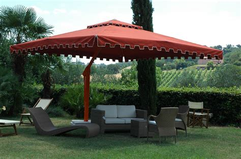 Large Offset Patio Umbrellas Cantilever Umbrella Royal Poggesi Garden Patio Umbrellas